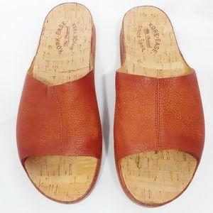 Kork Ease TUTSI Leather Slip On Platform Slides 10